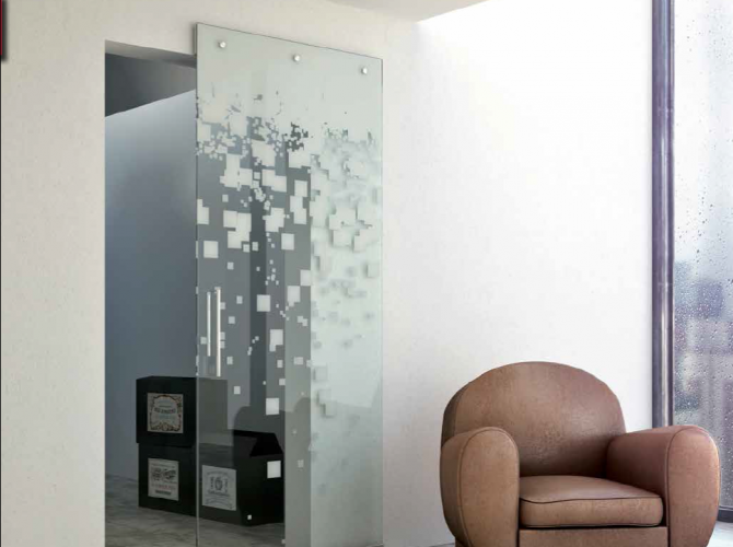 Decor Series Interior Sliding Door